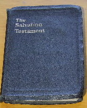 Image for The Salvation Testament  Indexed and Marked by the Best Methods of Bible Marking on All Subjects Connected with the Theme of Salvation ...