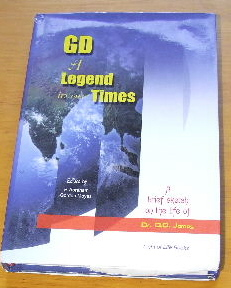 Image for GD: A Legend in Our Times  A Brief Sletch of the Life of G. D. James