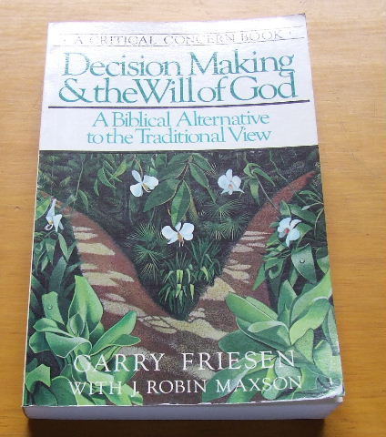 Image for Decision Making and the Will of God.
