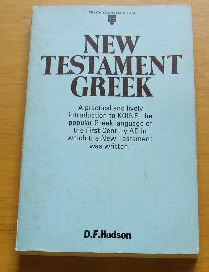 Image for New Testament Greek.