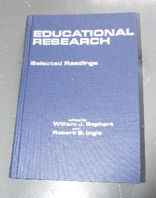 Image for Educational Research;: Selected readings, (Merrill's international series in education).