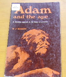 Image for Adam and the Ape  A Christian Approach to the Theory of Evolution