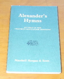 Image for Alexander's Hymns No. 3 Words only.