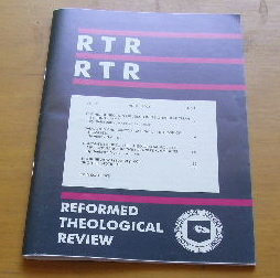 Image for Reformed Theological Review, Vol. 62, No. 1 (April, 2003).