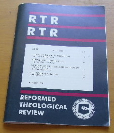 Image for Reformed Theological Review, Vol. 63, No. 1 (April, 2004).