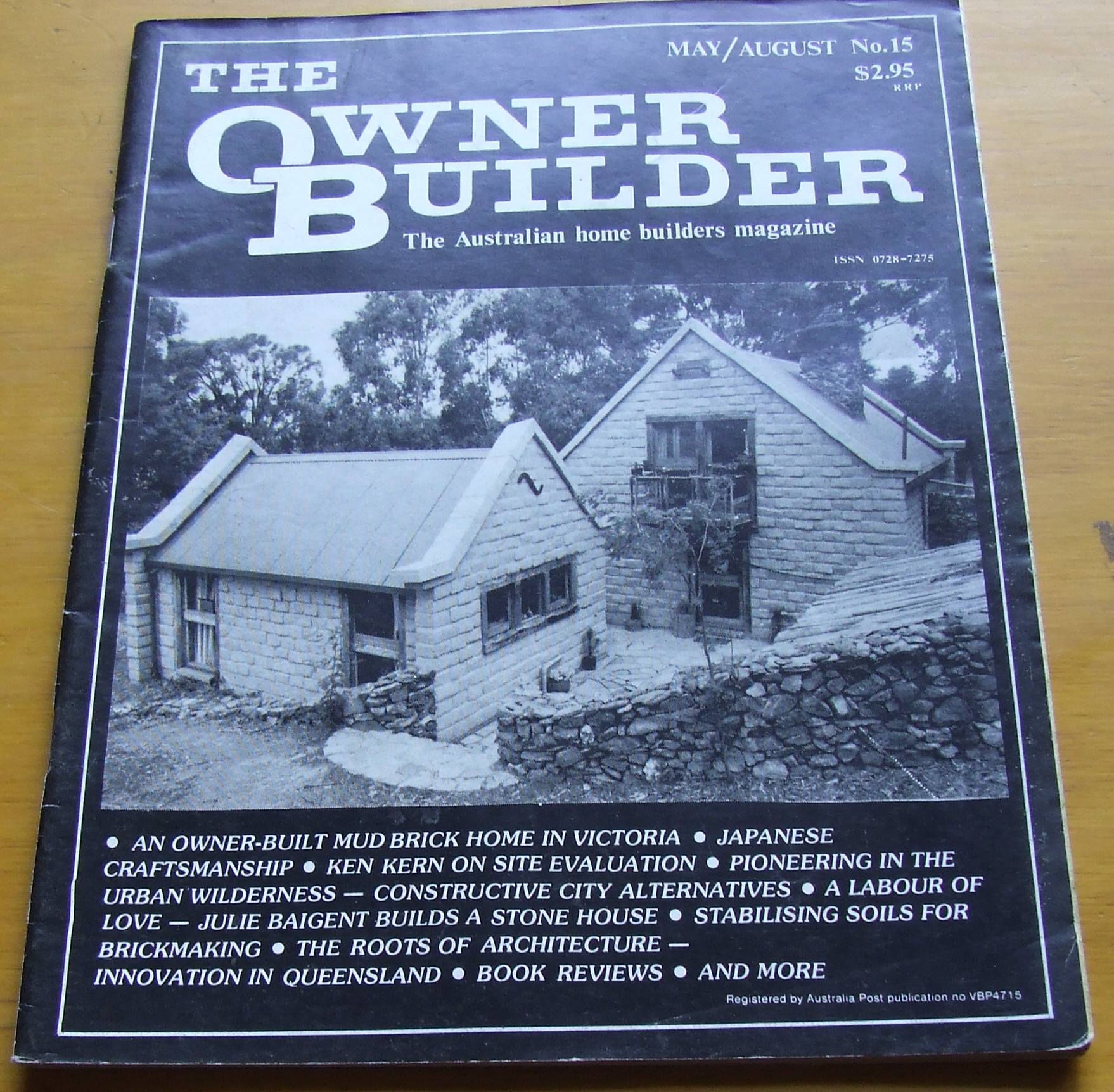 Image for The Owner Builder. The Australian Home Builders Magazine. No 15 1985.
