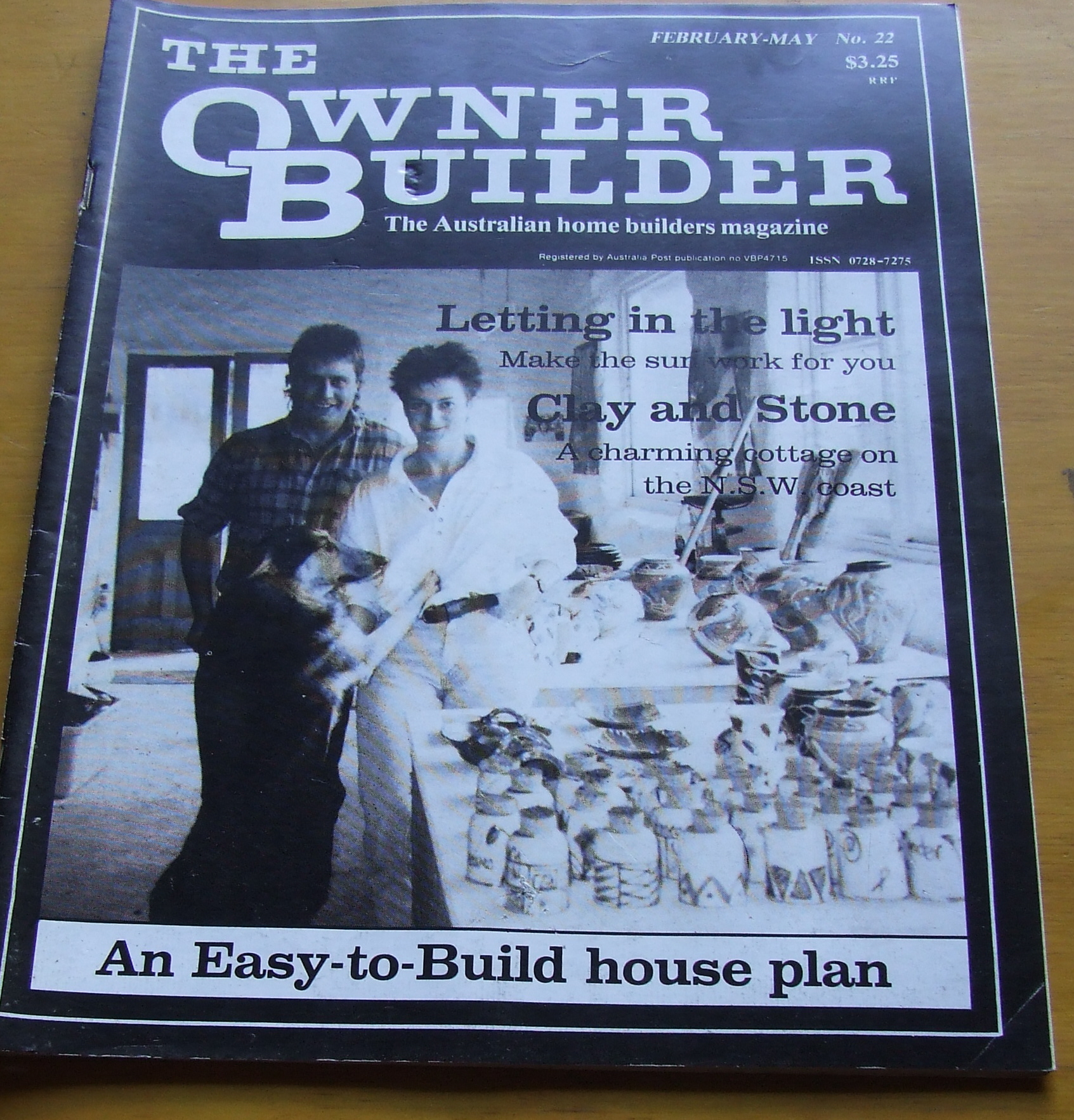Image for The Owner Builder. The Australian Home Builders Magazine. No 22 1987.