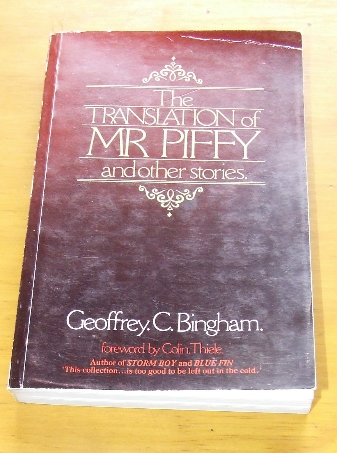 Image for The Translation of Mr Piffy and other stories.