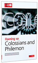 Image for Opening up Colossians and Philemon (Opening up the Bible).