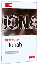 Image for Opening up Jonah:   (Opening up the Bible).