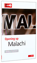 Image for Opening up Malachi (Opening up the Bible).