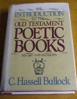 Image for An Introduction to the Old Testament Poetic Books.