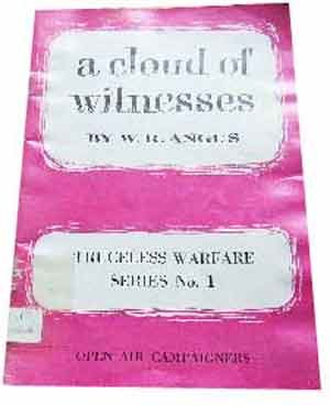 Image for A Cloud of Witnesses  Truceless Warfare Series No 1
