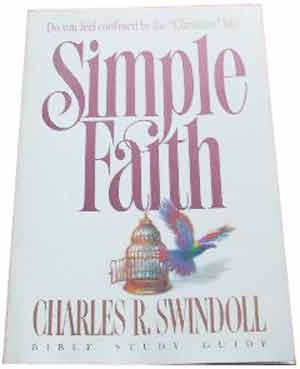 Image for Simple faith: Insight for Living Bible study guide (Insight for living Bible study guide).