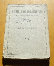 Image for Ruth the Moabitess and Other Bible Readings.