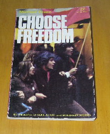 Image for Choose Freedom.