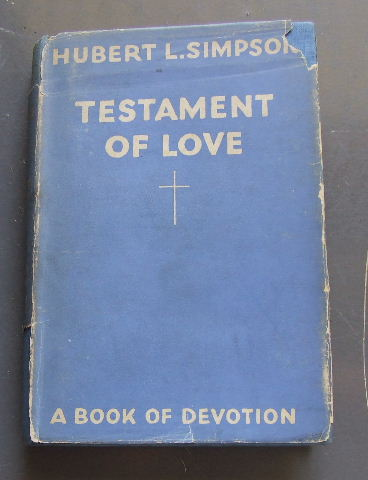 Image for Testamant of Love  A Book of Devotion