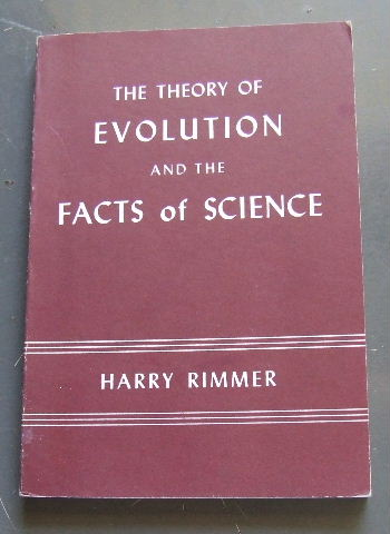 Image for The Theory of Evolution and the Facts of Science.