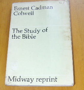 Image for The Study of the Bible (Midway reprints).