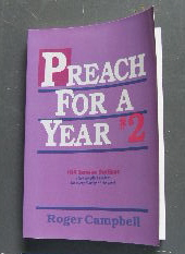 Image for Preach for a Year #2: 104 Sermon Outlines (Preach for a Year Series).