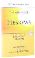 Image for The Message of  Hebrews.