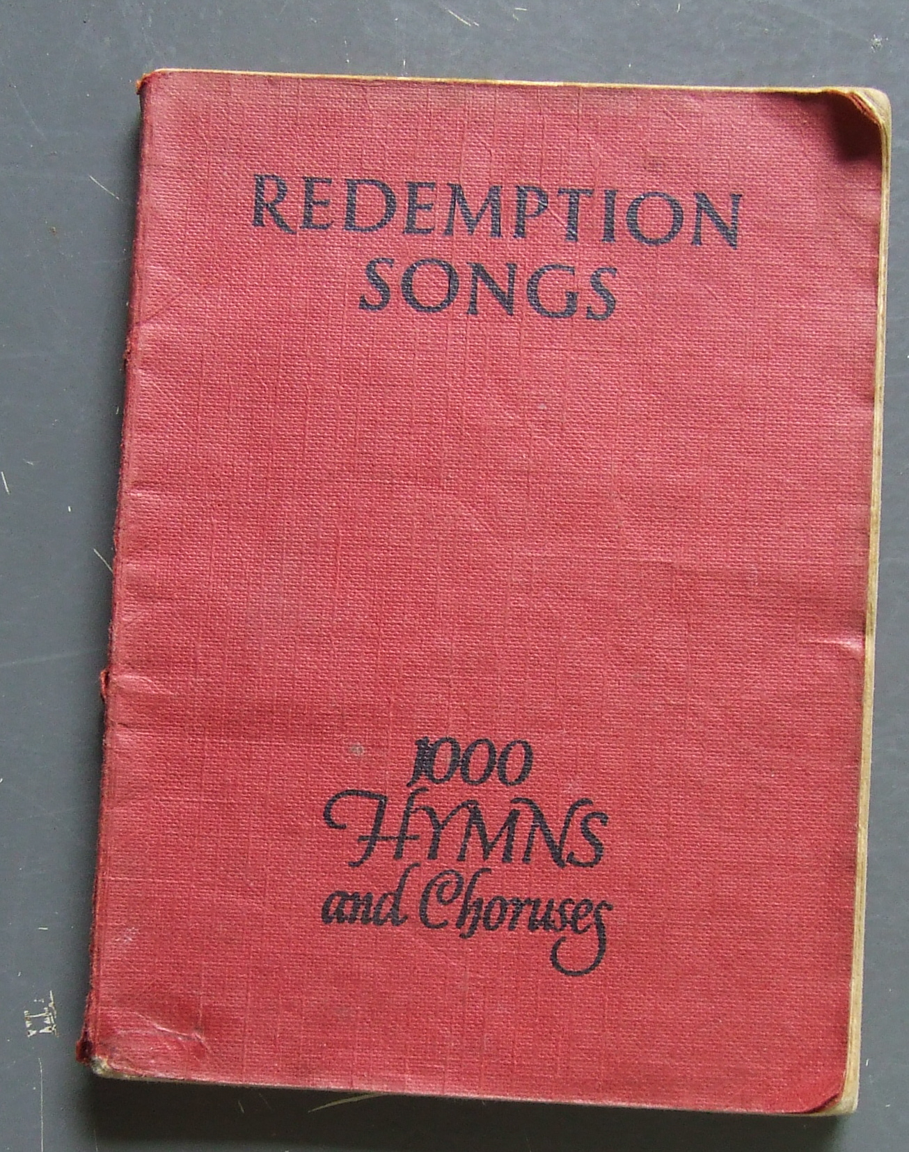 Redemption Songs Hymn Book