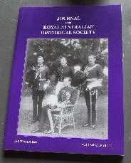 Image for Journal of the Royal Australian Historical Society December 2000 Volume 86 Part 2.