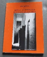 Image for Journal of the Royal Australian Historical Society December 2002 Volume 88 Part 2.