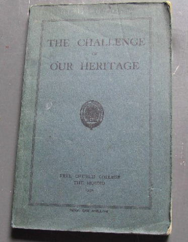 Image for The Challenge of Our Heritage.