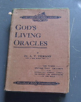Image for God's Living Oracles: A Series of Lectures delivered in Exeter Hall London.