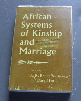 Image for African Systems of Kinship & Marriage.