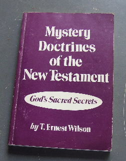 Image for Mystery Doctrines of the New Testament  God's Sacred Secrets