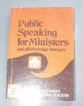 Image for Public Speaking for Ministers  Importance of effective public speaking