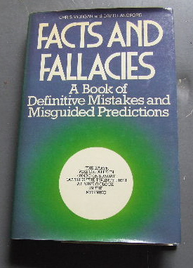 Image for Facts & fallacies  A Book of Definitive Mistakes.