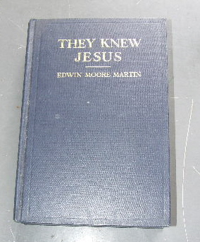 Image for They Knew Jesus  A series of evangelistic sermons in narritive form.