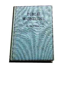 Image for Bible Wonders.