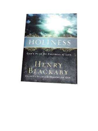 Image for Holiness: God's Plan for Fullness of Life.