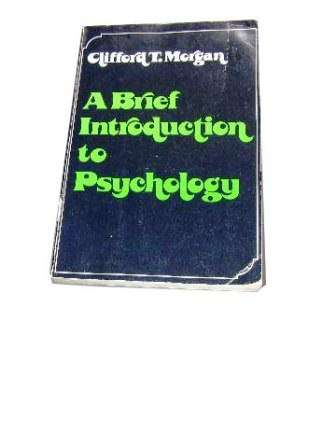 Image for A Brief Introduction to Psychology.