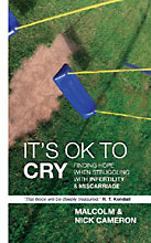 Image for It's Ok To Cry  Finding Hope when Struggling with Infertility and Miscarriage
