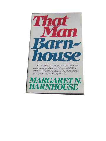 Image for That Man Barnhouse.