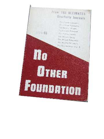 Image for No Other Foundation.