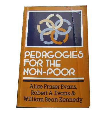 Image for Pedagogies for the Non-Poor.