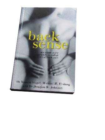 Image for Back Sense  A Revolutionary Approach to Halting the Cycle of Chronic Back Pain