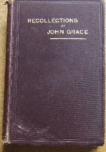 Image for Recollections of John Grace, 29 Years Minister of the Gospel at Brighton.