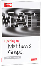 Image for Opening Up: Matthew's Gospel.