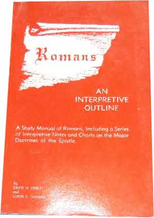 Image for Romans. An Interpretive Outline.
