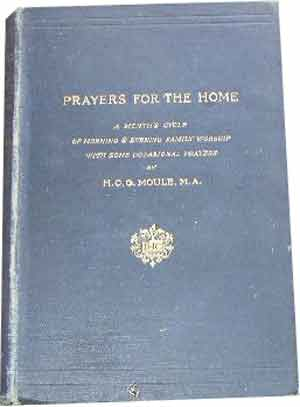 Image for Prayers for the Home: A Month's Cycle of Morning and Evening Family Worship with Some Occasional Prayers.
