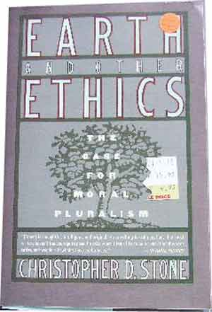 Image for Earth and Other Ethics  The Case for Moral Pluralism