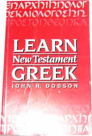 Image for Learn New Testament Greek.