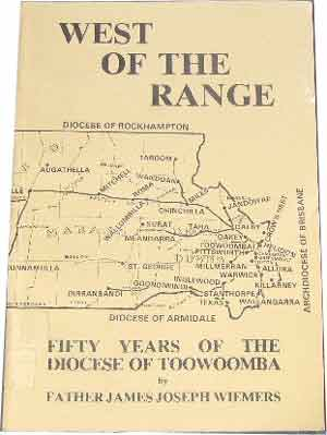 Image for WEST OF THE RANGE: Fifty Years of the Diocese of Toowoomba.